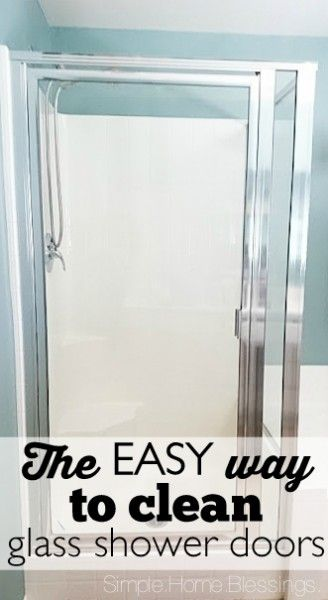 Best 25+ Cleaning glass shower doors ideas on Pinterest | Cleaning ...