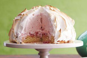 Strawberry Shortcake Baked Alaska recipe