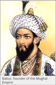 Babur – The First Mughal Emperor India after defeating Ibrahim Lodhi in the Battle of Panipat in 1526. At the age of 14, Babur ascended the throne of the Central Asian kingdom of Farghana.