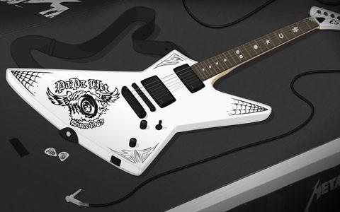 james hetfield esp explorer guitars marshall amps in 2019 james hetfield guitar famous. Black Bedroom Furniture Sets. Home Design Ideas