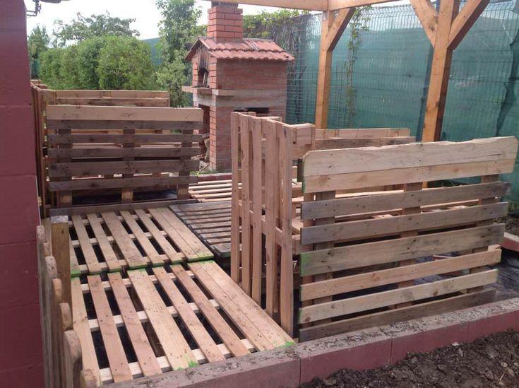 Original Elevated Pallet Garden Planters #bedroom #garden #palletbed #palletplanter #recyclingwoodpallets Updated : Ergonomic and cheap pallet garden. ...