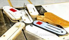 Making Zero Clearance Table Saw Insert - Table Saw Tips, Jigs and Fixtures | WoodArchivist.com
