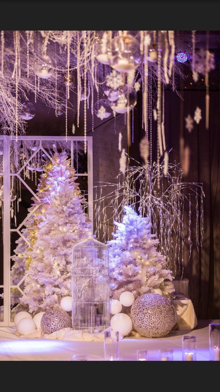 D'lara Chocolate & Events — Winter wonderland decoration.