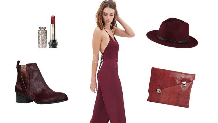 9 Ways To Wear Bordeaux   StyleList Canada