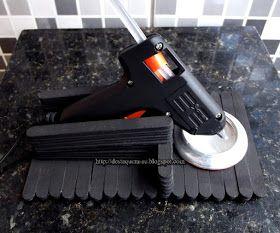 Destaquem-se: DIY - Suporte para pistola de cola quente