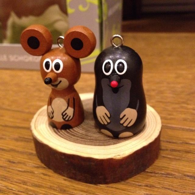 wooden Krtek