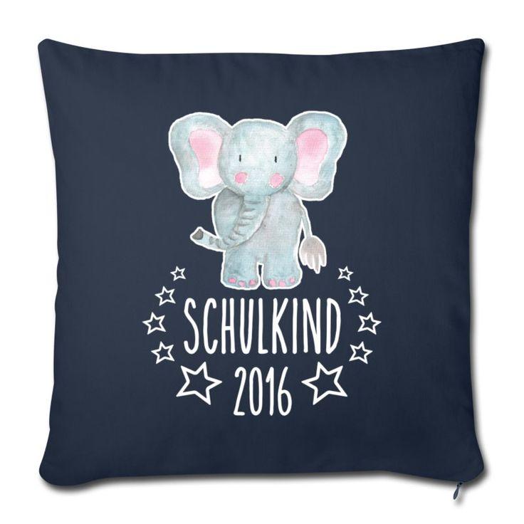 EINSCHULUNG. Ein schönes Geschenk für den kleinen Schulanfänger: Kissenbezug mit dem Motiv Schulkind 2016 (online bestellbar) http://shop.spreadshirt.de/Einschulung