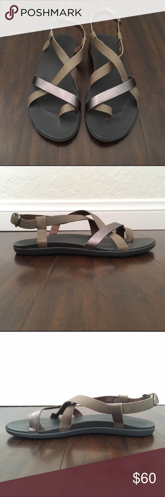 OluKai Upena sandals Worn just few times during a trip to Japan. Still selling at Nordstrom for full price. Last three images are stock photos. All offers accepted or countered! 😊 OluKai Shoes Sandals