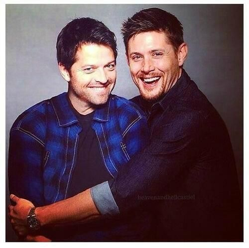 .Misha Collins and Jensen Ackles from Supernatural!!! Two of my very favorite actors from my very, very fav Show!!!