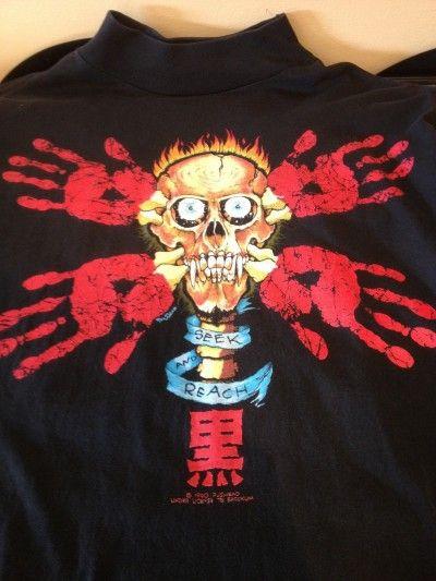 """1990 PUSHEAD """"SEEK & REACH"""" Longsleeve Shirt"""