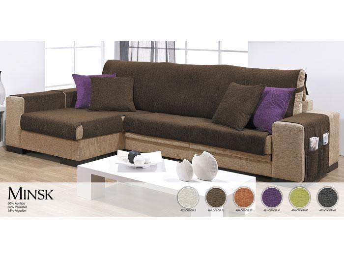 Funda sof chaise longue minsk fundas de sof chaise - Fundas sofas ajustables ...