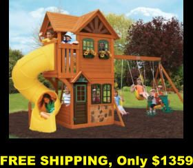 Swing-sets, Playhouses, Kids Water Slides, FREE shipping, no sales tax, no interest financing, ADD to Amazon cart for DEALS and related products, Play-sets, Kid's play, Kid's pools, Outdoor