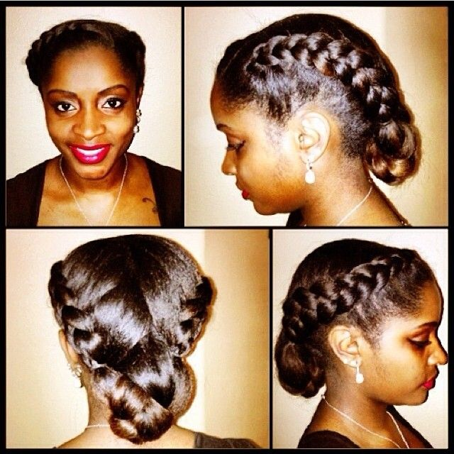 207 best Protective Styles for Transitioning to Natural Hair images ...