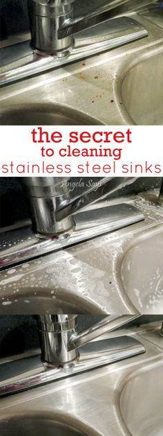 Best 25 Clean Stainless Sink Ideas On Pinterest