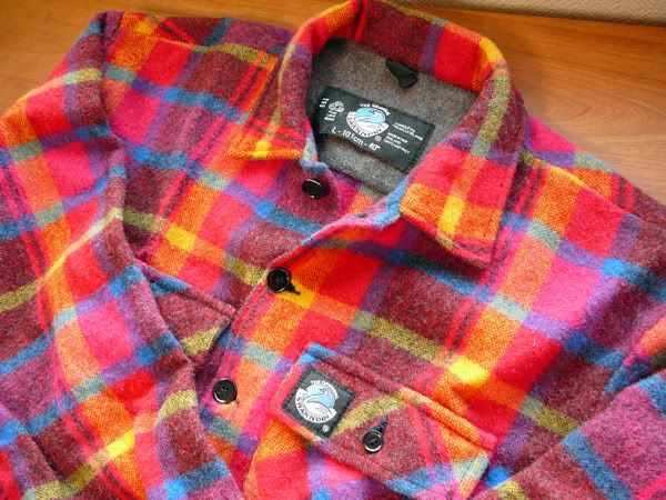 bright button up