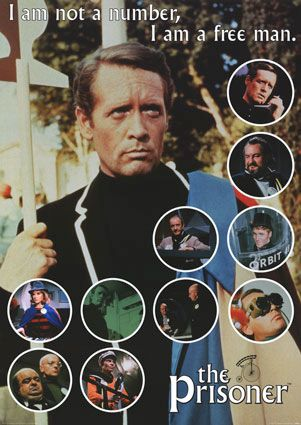 The Prisoner with Patrick McGoohan. Not to be confused with the later tat.