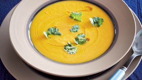 Тыквенный суп в азиатском стиле