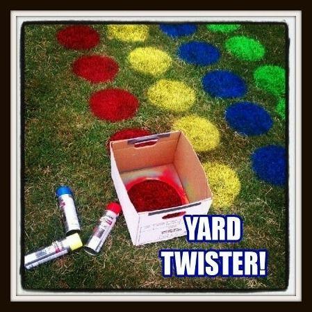 Twistet kann man im Sommer auch einfach mal draußen spielen!