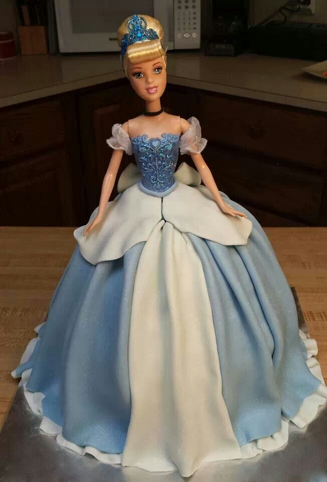 17 Best images about cinderella doll cake on Pinterest ...