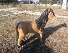 Pony Horse Statue