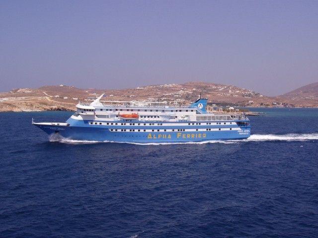 Aqua Jewel off Paros 2004 - Aqua Jewel - Gallery - Shipfriends