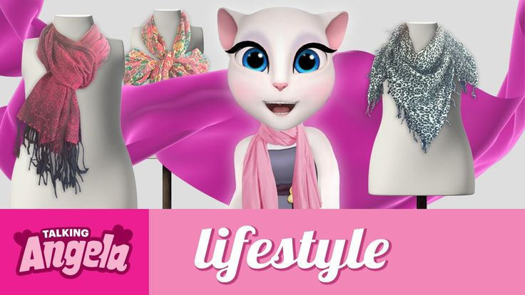 talking angela - the scarf expert