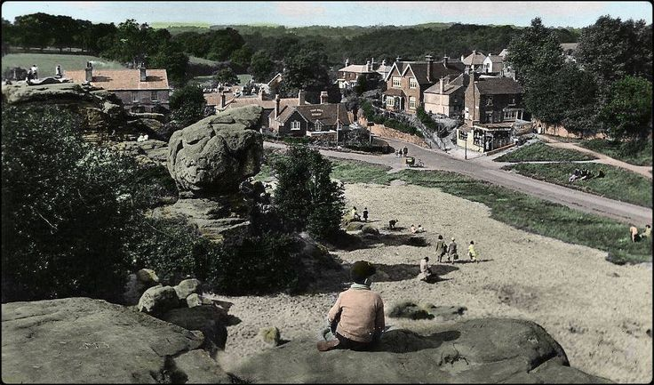 The Toad Rock, Rusthall (no date).