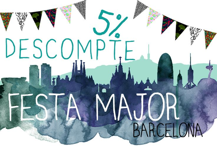 Descuentos por la Festa de la Mercè 2016 #Barcelona #InstintoBcn