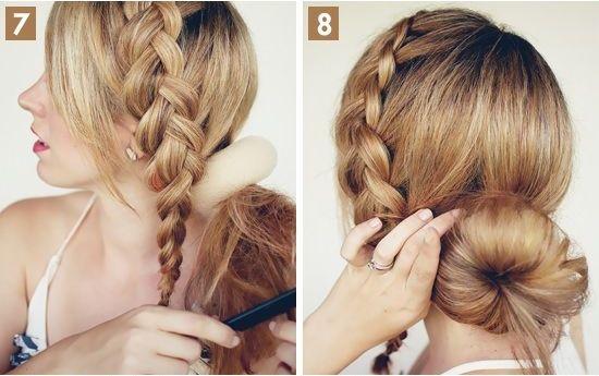 For Medium Length Hairstyle 30 Stylish Easy Up #41637 ...