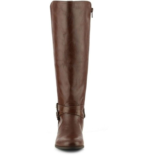 Unisa Teylor Riding Boot ($70) ❤ liked on Polyvore featuring shoes, boots, unisa, unisa boots, riding boots, equestrian boots and high boots