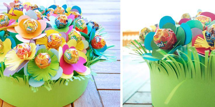 Tweedot blog magazine - torta decorata con caramelle per abbellire la tavola