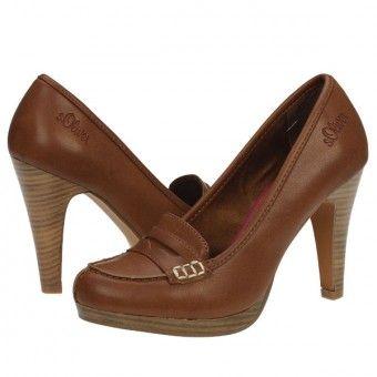 Pantofi casual dama s.Oliver tobacco