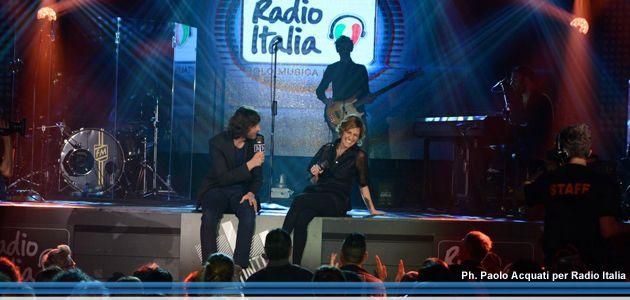 """#StaseraInTv Italia1 e Radio Italia presentano """"Fronte del Palco"""" con Irene Grandi"""