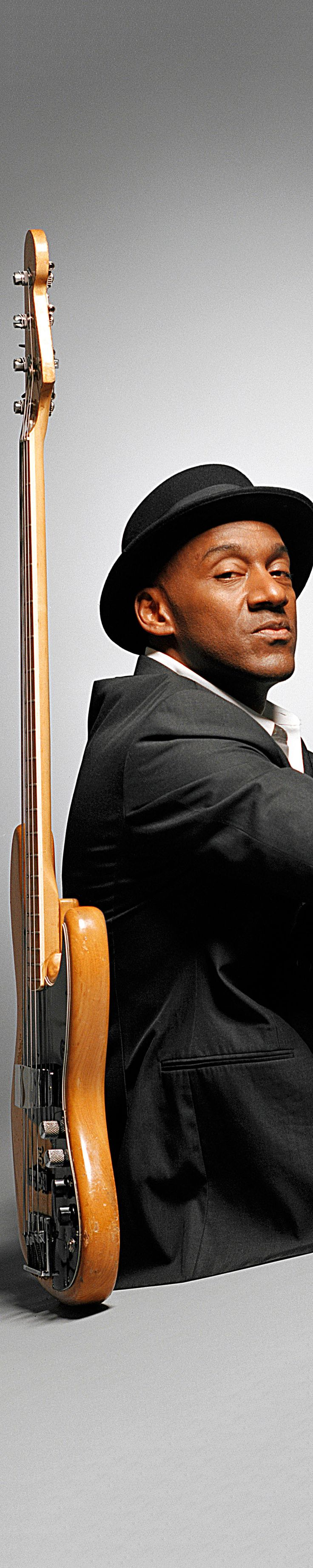 Marcus Miller ~ composer, producer, and multi instrumentalist. Best known for bass guiatrist...played with Miles Davis, Herbie Hancock, Luther Vandross + David Sanborn from Jamaica, Queens, New York