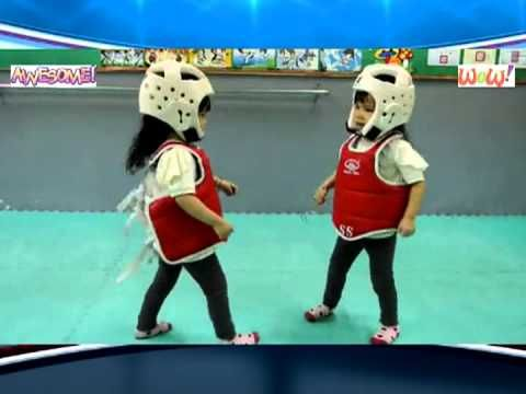 Cutest Karate Kids Taekwondo Fight Ever - Martial Artist Battle - YouTube