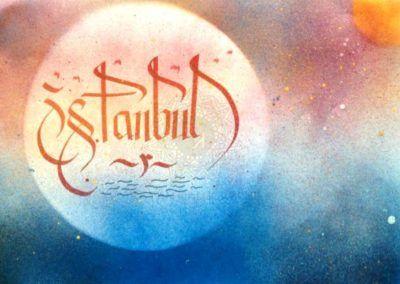 #istanbul #i   👍  | ➡  | 📝    🔹 https://facebook.com /rayankalligraphie 🔸 http://rayankalligraphie.de      #kalligrafi #kalligraphie #kalligrafie #calligraphy #callygraphie #art #sanat #kunst #budageceryahu #rayankalligraphie #moderncalligraphy #brushcalligraphy #calligraphyph #calligraphyart #arabicCalligraphy #calligraphymasters