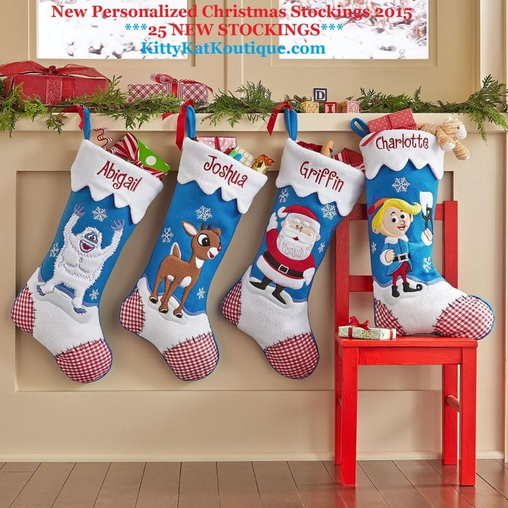New Personalized Christmas Stockings 2015 http://kittykatkoutique.com/new-personalized-christmas-stockings-2015/