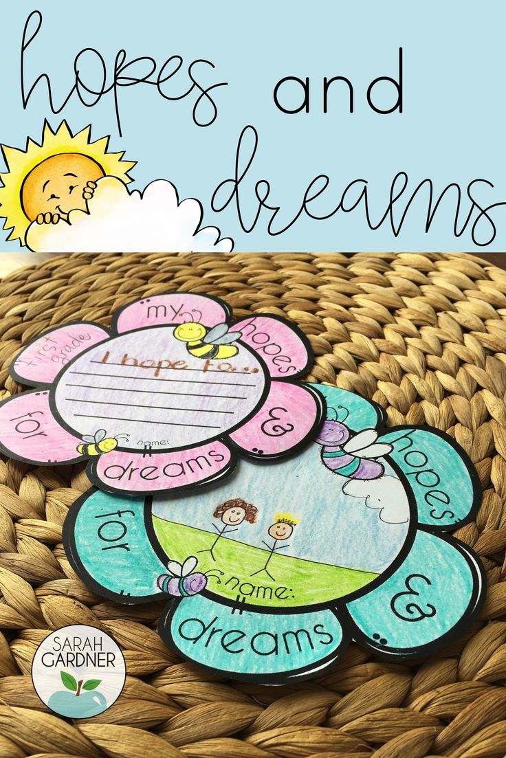 Hopes & Dreams goal setting is an important part of the back to school season in a Responsive Classroom. These templates will brighten your bulletin boards!
