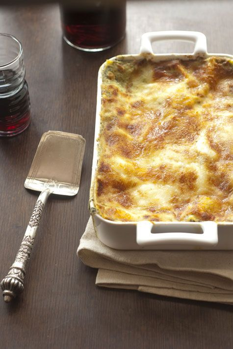 The best butternut squash lasagne (or meal) anywhere!  DELICIOUS!