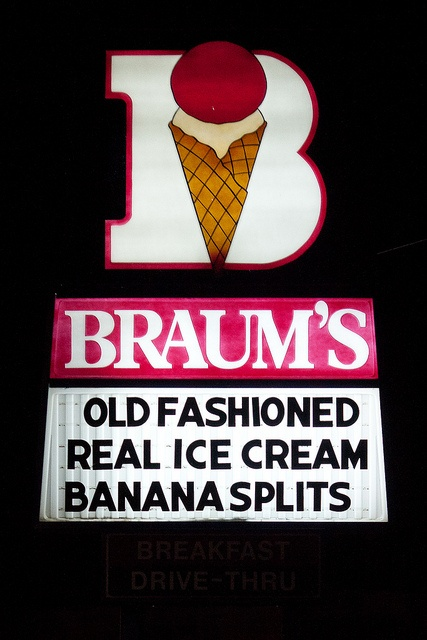 Braum's Ice Cream. This place is the best. Used to go there with my grandma every summer.