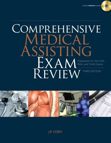 My life right now! Bestseller Books Online Comprehensive Medical Assisting Exam Review: Preparation for the CMA, RMA and CMAS Exams (Test Preparation) J. P. Cody $91.86 - http://www.ebooknetworking.net/books_detail-143549914X.html