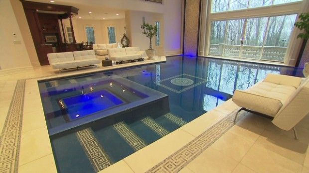 In Room Pools New Jersey Swimming Pool Its Main Living Pinterest Rooms Indoor And