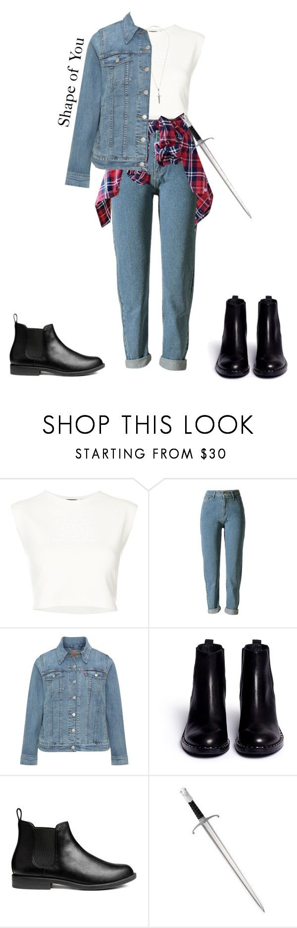 """""Romeo"" Outfit"" by kayla-santella ❤ liked on Polyvore featuring Puma, Levi's, Ash and Roman Paul"