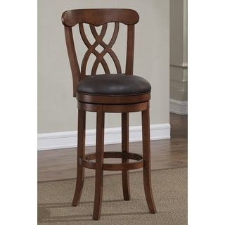 Shop for Lelia 34-inch Light Oak Swivel Tall Bar Stool by Greyson Living. Get free shipping at Overstock.com - Your Online Furniture Outlet Store! Get 5% in rewards with Club O! - 19064193