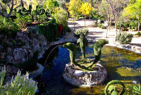 Bosque Encantado Sculpture Garden Madrid, Spain