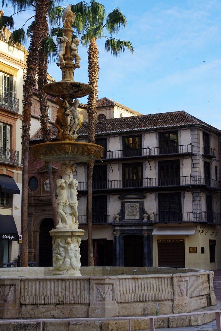 Málaga. Plaza de  la Constitución