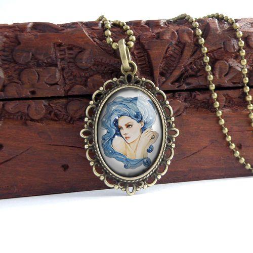 pendant with fairy