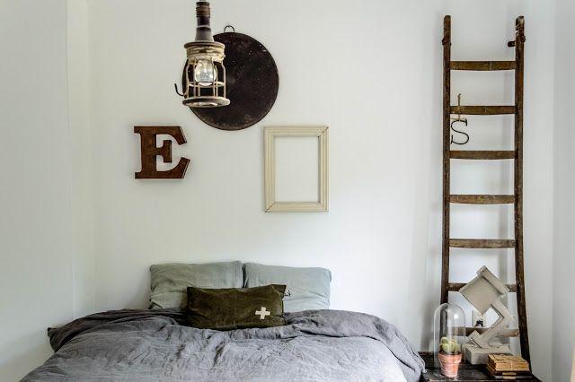 1000+ images about slaapkamer on Pinterest  Advertising, Ladder decor ...