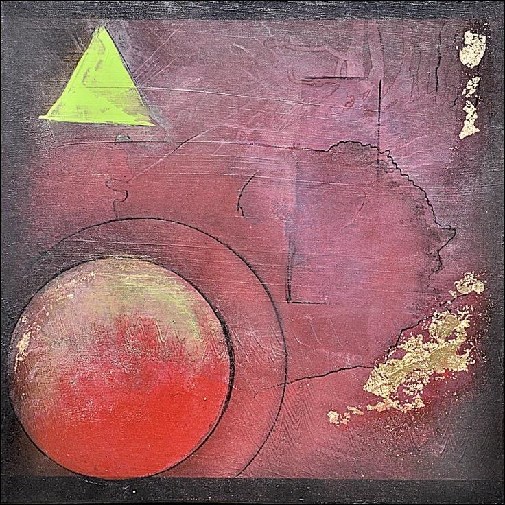 Œuvre Originale : Artiste : Patricia Abel    Dimension : 50 X 50 cm