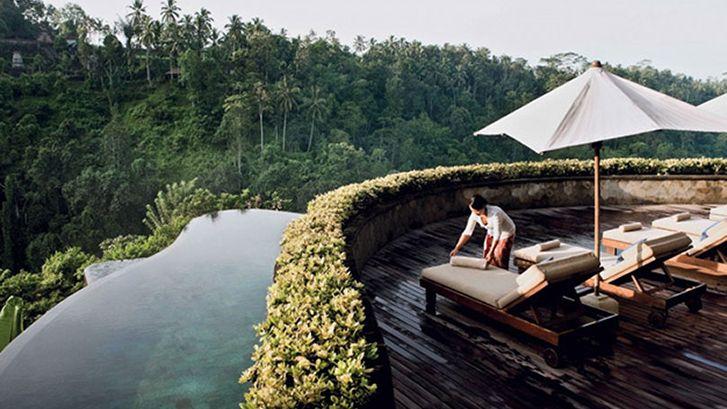 Hotel Hanging Gardens Ubud en Bali | The Cool Pool